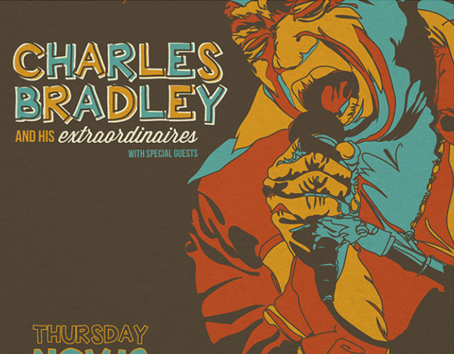 Charles Bradley Gig Poster