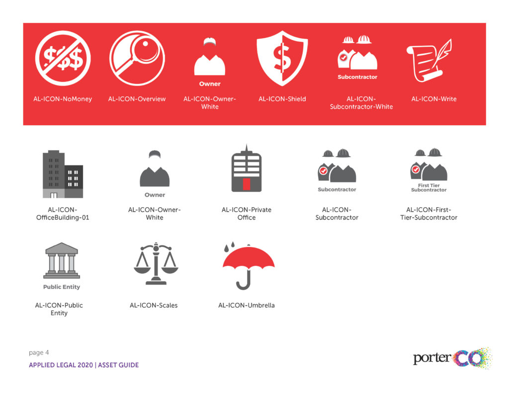 Applied Legal Icon Assets